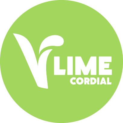 Concentrated Lime Flavour Cordial with Sugar and Sweeteners